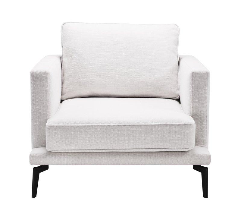 Armchair 'Avenue 54' - Avalon white