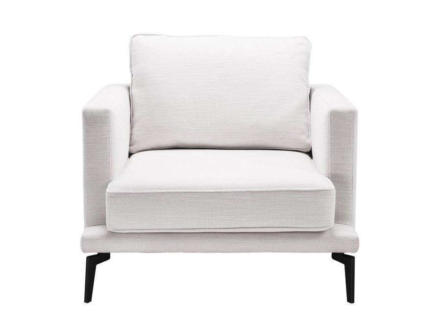 Fauteuil 'Avenue 54' - Avalon white
