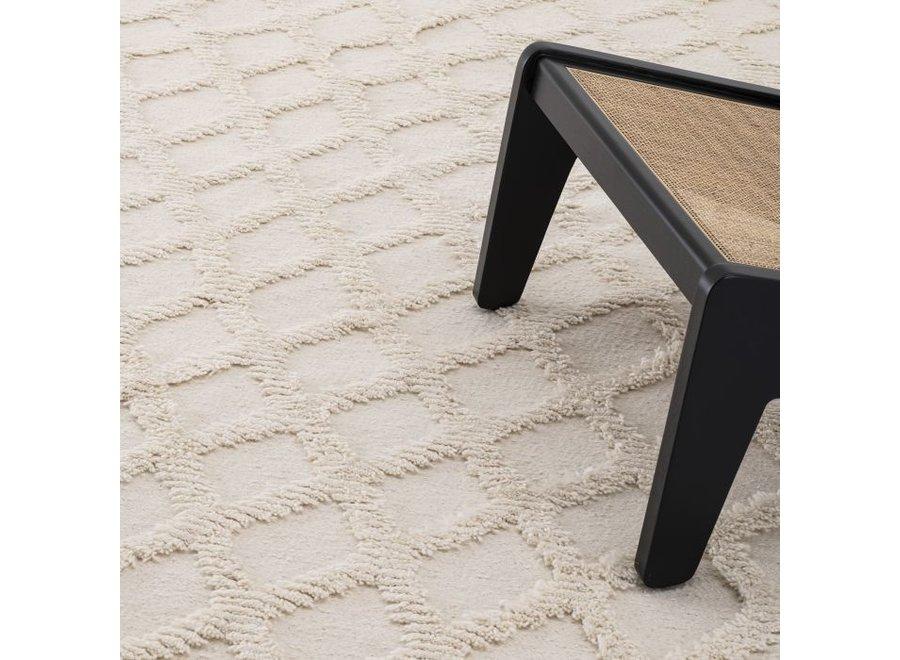 Carpet 'Carré' - Ivory