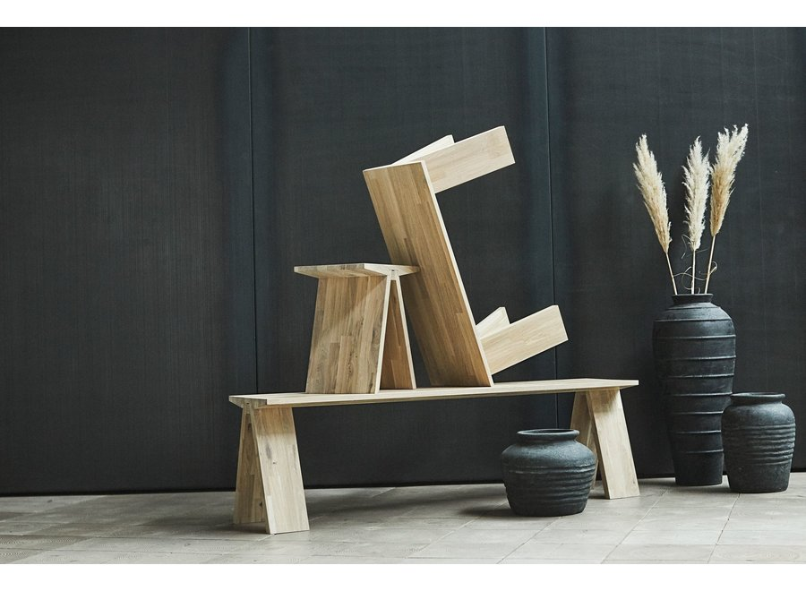 Bench 'Angle' Natural Oil