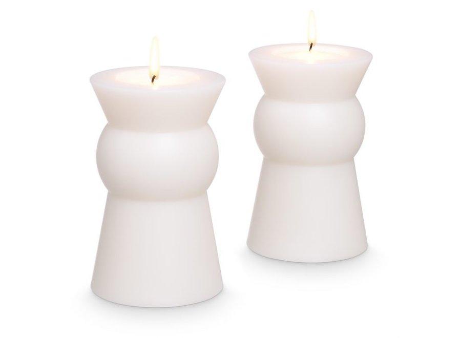 Kaarsen set 'Arto' - 2 stuks - S