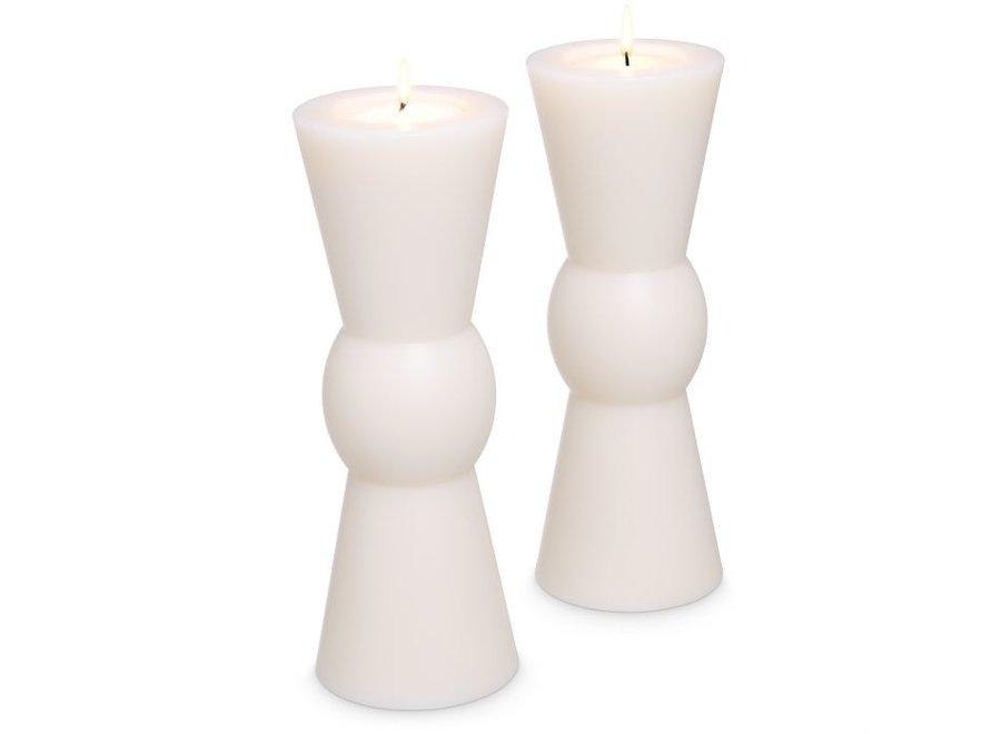 Kaarsen set 'Arto' - 2 stuks - L