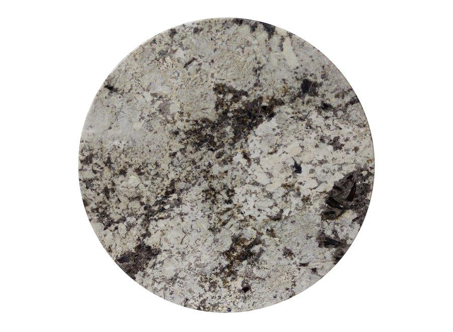 Coffee table 'Moma' - Alaska Marble White - 40 cm