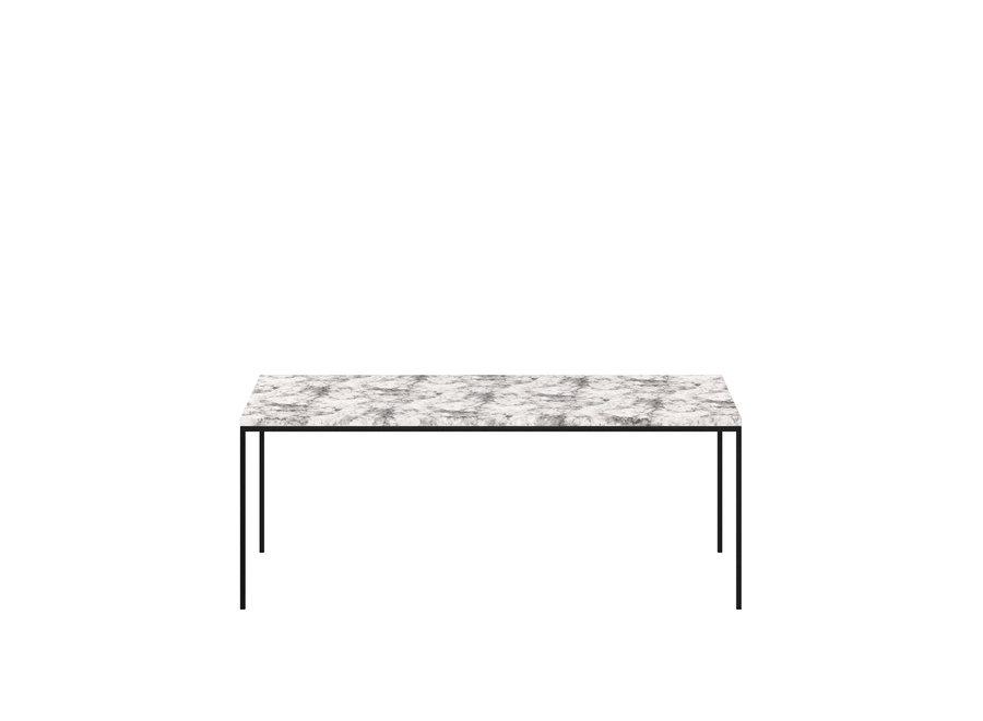 Coffee table 'Moma' - Alaska Marble White - 100 cm