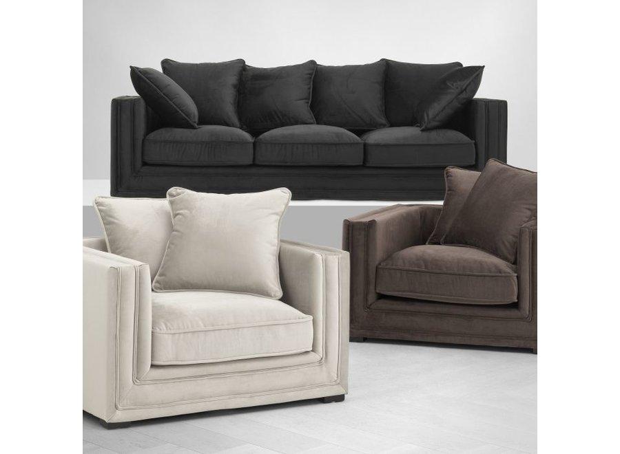 Sofa 'Menorca' Jet Black