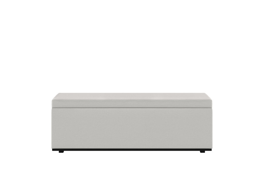 Bed bench 'Porto' - Giant Fabric White