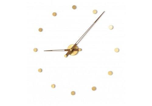Nomon Modern clock 'Rodón Gold n'