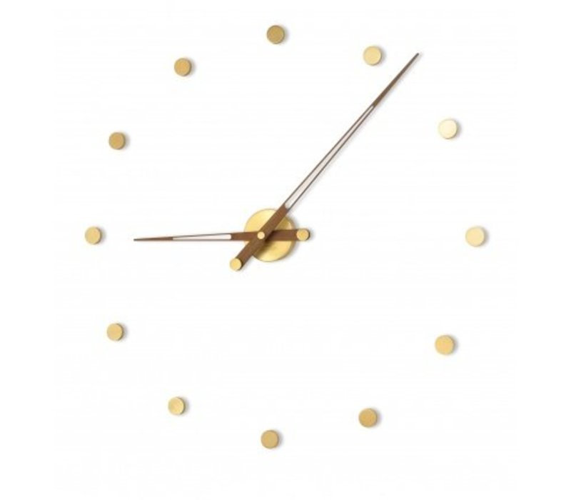 Modern clock 'Rodón Gold n'
