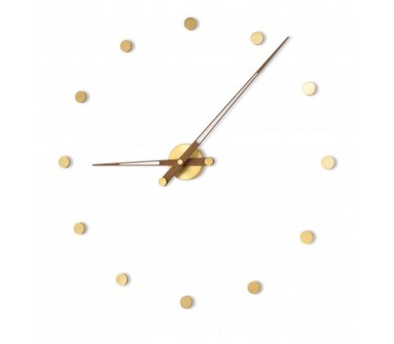 Moderne klok 'Rodón Gold n' in 70cm