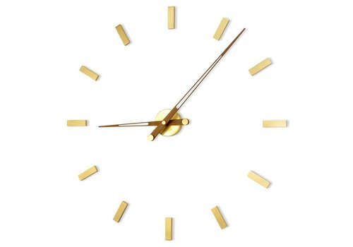 Nomon Large wall clock - Tacón Gold N