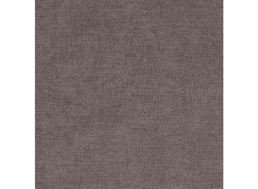 Hocker 'Paris' - Milton Fabric Brown