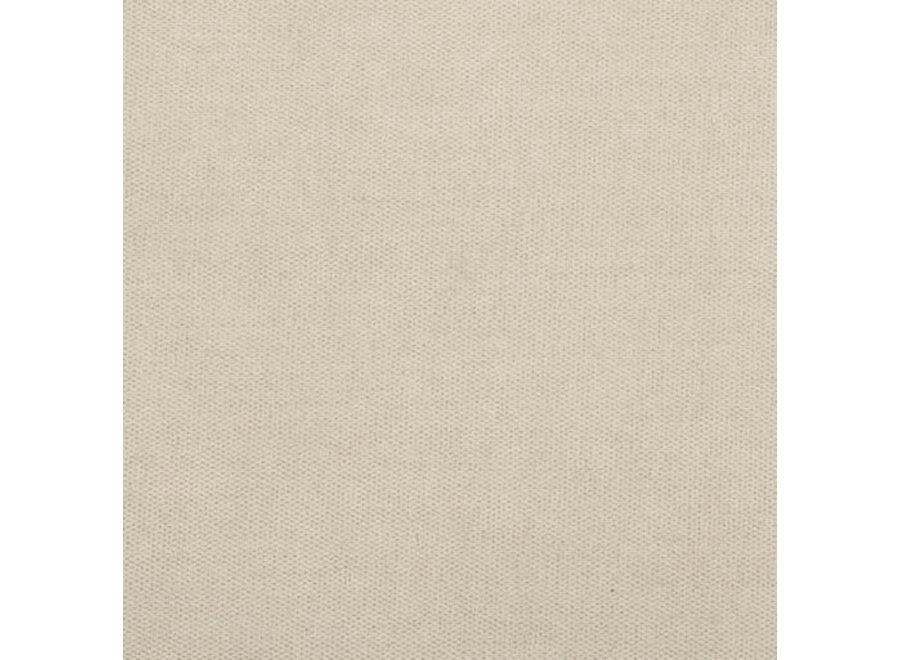 Hocker 'Paris' - Milton Fabric Beige