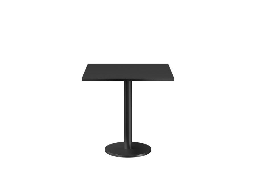Bistro tafel 'Marais' Square - Black