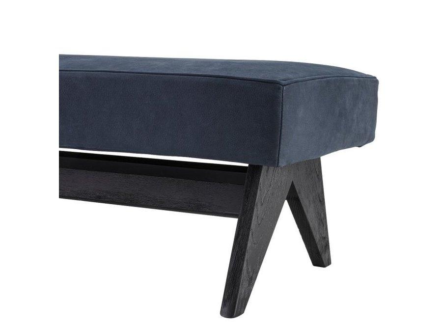 Bench 'Dionis' - Blue nubuck