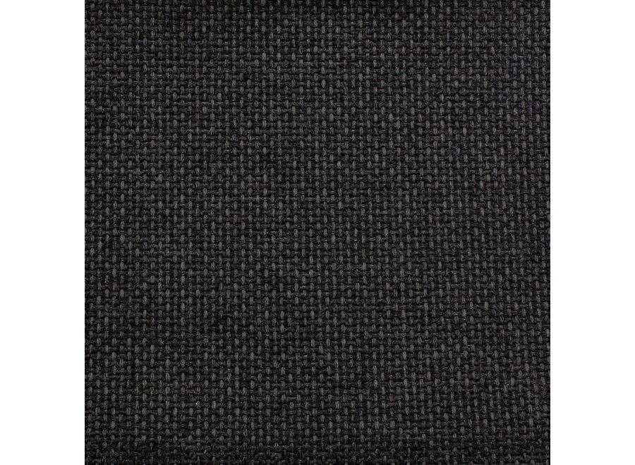 Eetkamerstoel 'Bend' - Rate Fabric Brown/Black