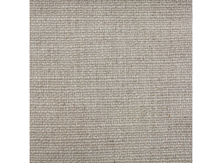 Eetkamerstoel 'Bend' - Amsterdam Fabric Natural