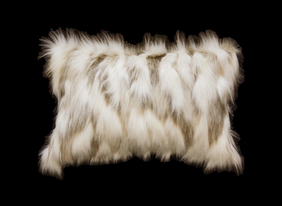 Bontkussen 'Snowshoe Hare'  45x45cm  of 30x45cm
