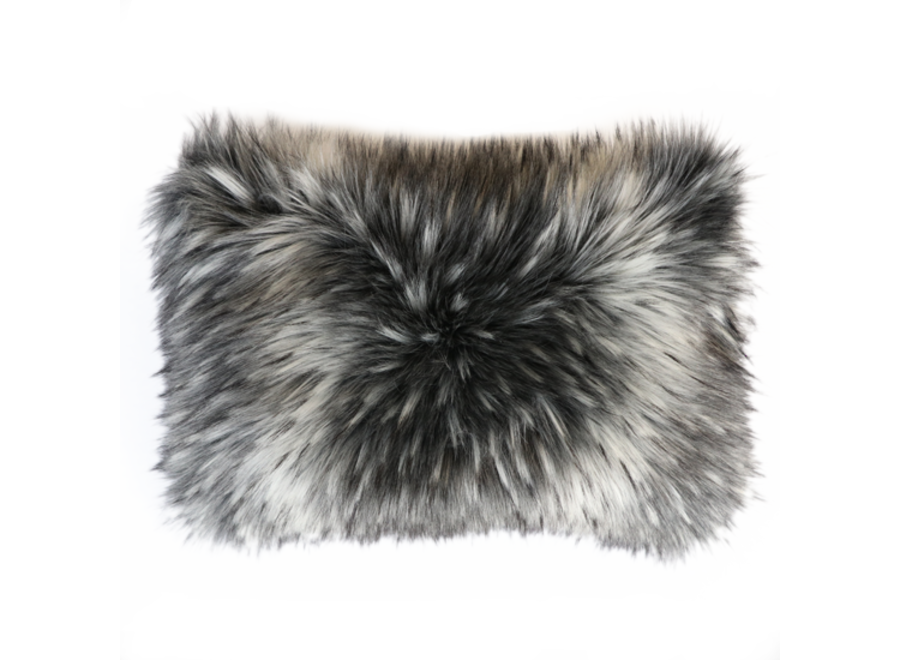 Bontkussen 'Alaskan Wolf'