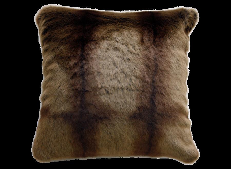 Bontkussen - Striped Beaver