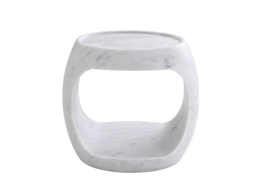 Bijzettafel 'Clipper' low - White