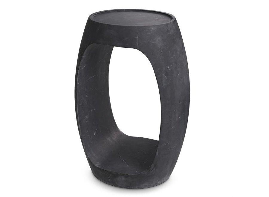 Bijzettafel Clipper high - Black