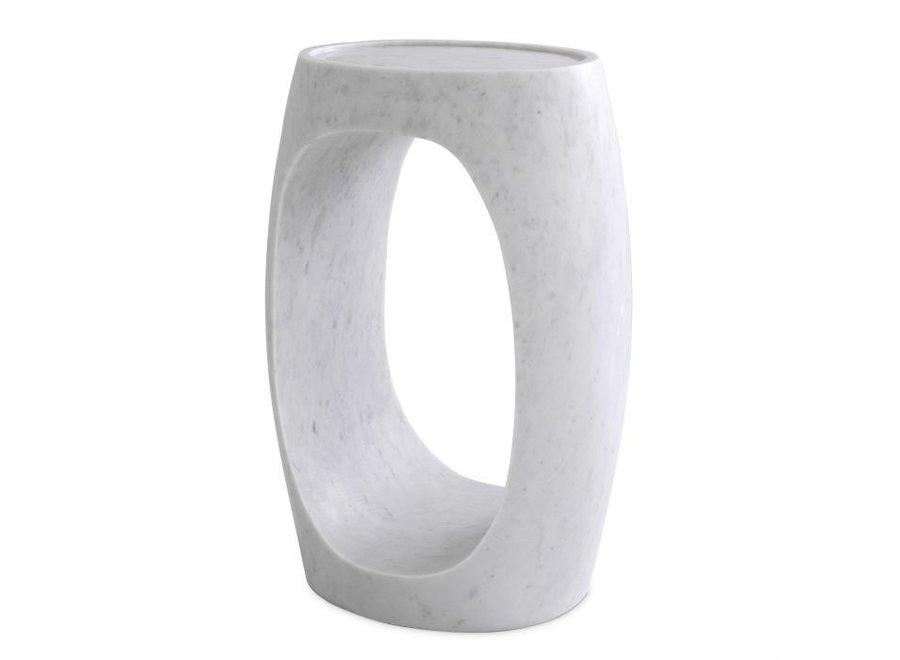 Bijzettafel Clipper high - White