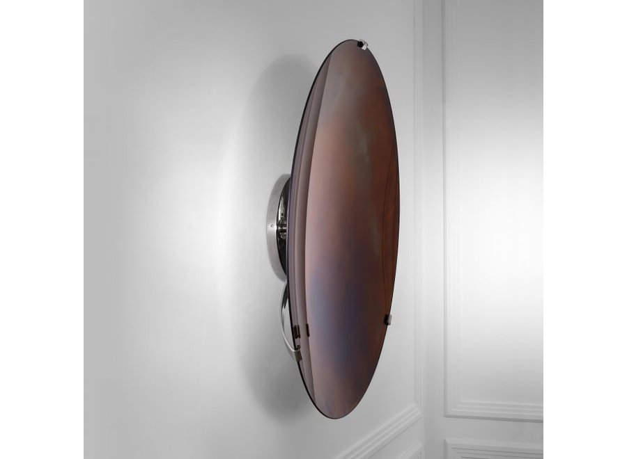 Decoratieve concave spiegel 'Laguna' - S