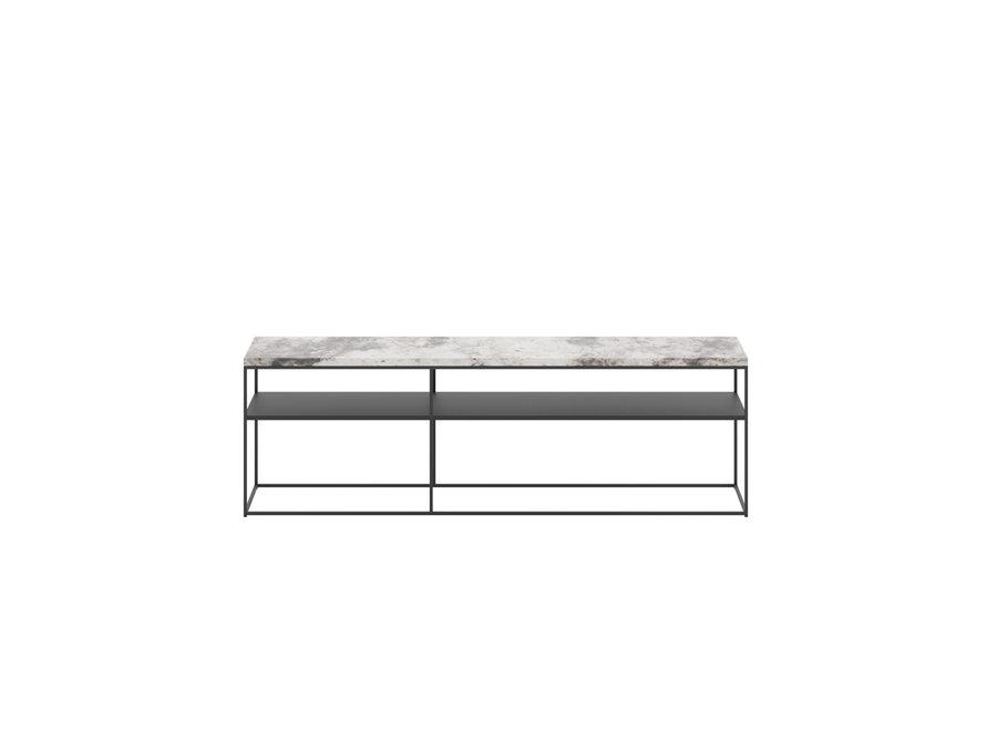 Console tafel 'Geneva' - Alaska Marble White
