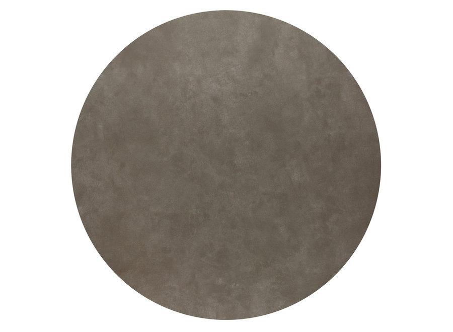 Bistro tafel 'Soho' Round - Concrete Ceramic