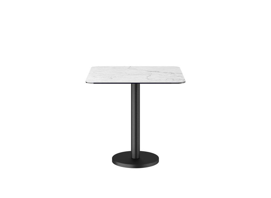 Bistro tafel 'Soho' Square - White Ceramic