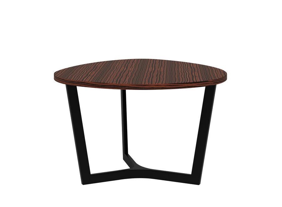 Eettafel 'Java' - Maccasar Wood Brown - S