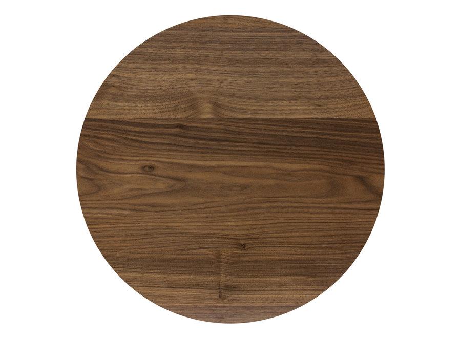 Eettafel 'Java' - Walnut Wood Brown - M