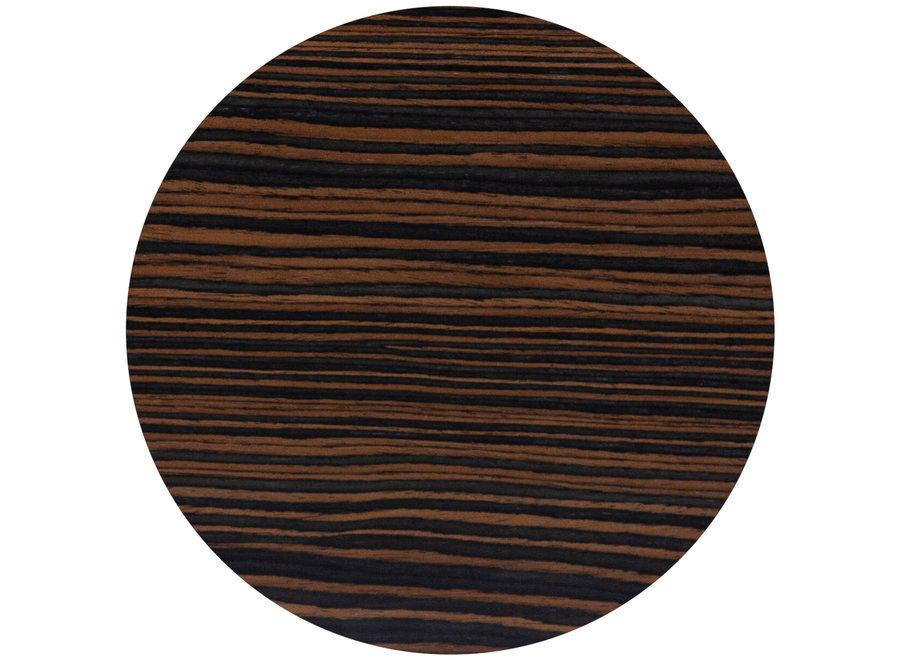 Eettafel 'Java' - Maccasar Wood Brown - M