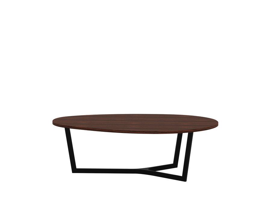 Eettafel 'Java' - Maccasar Wood Brown - L