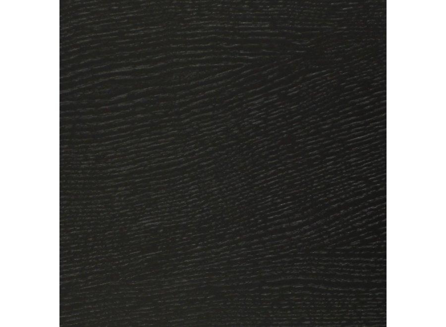 Eettafel 'Boston' - Wood Black - L