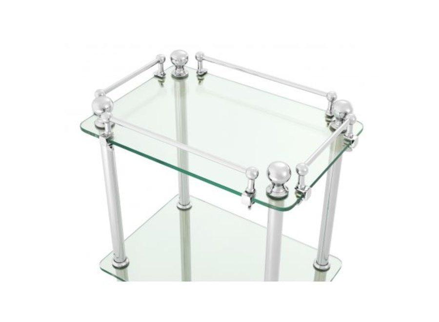 Badkamer meubel 'Devon' - Nickel