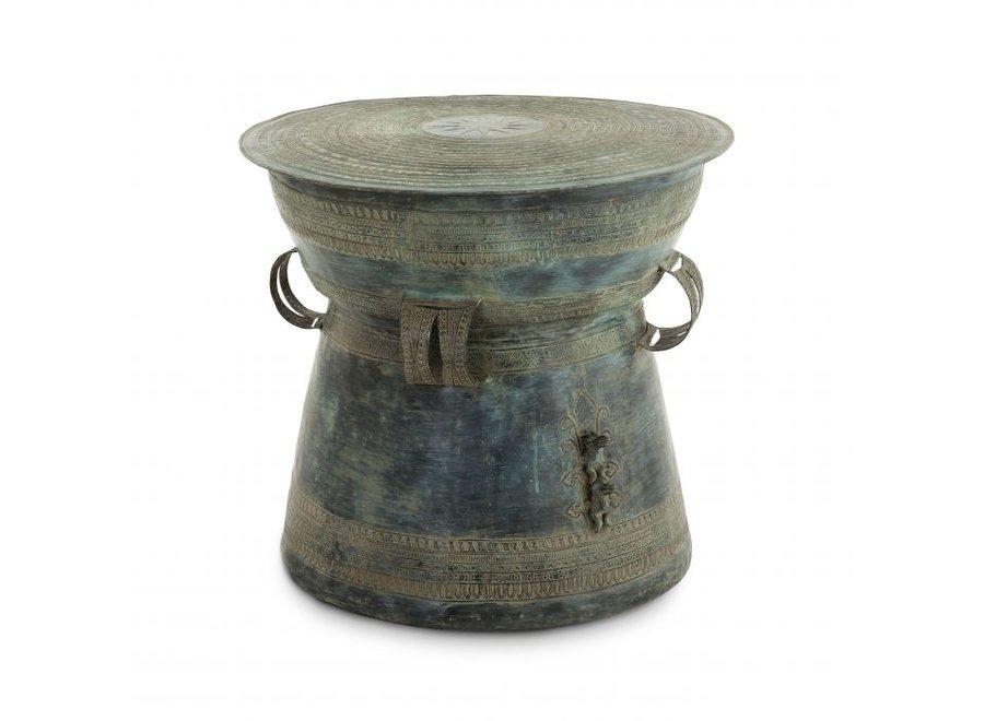 Bijzettafel Drum Thai - Green