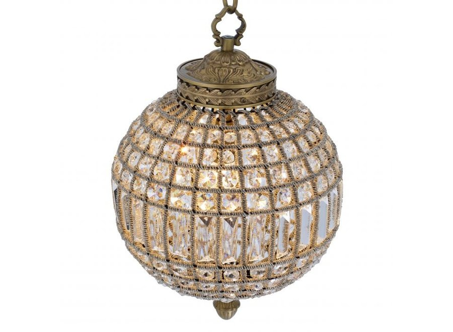 Chandelier 'Kasbah' - S - Antique Brass