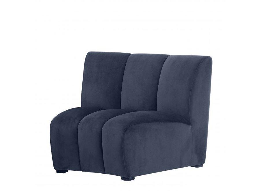 Sofa Lando -  Savona midnight blue velvet