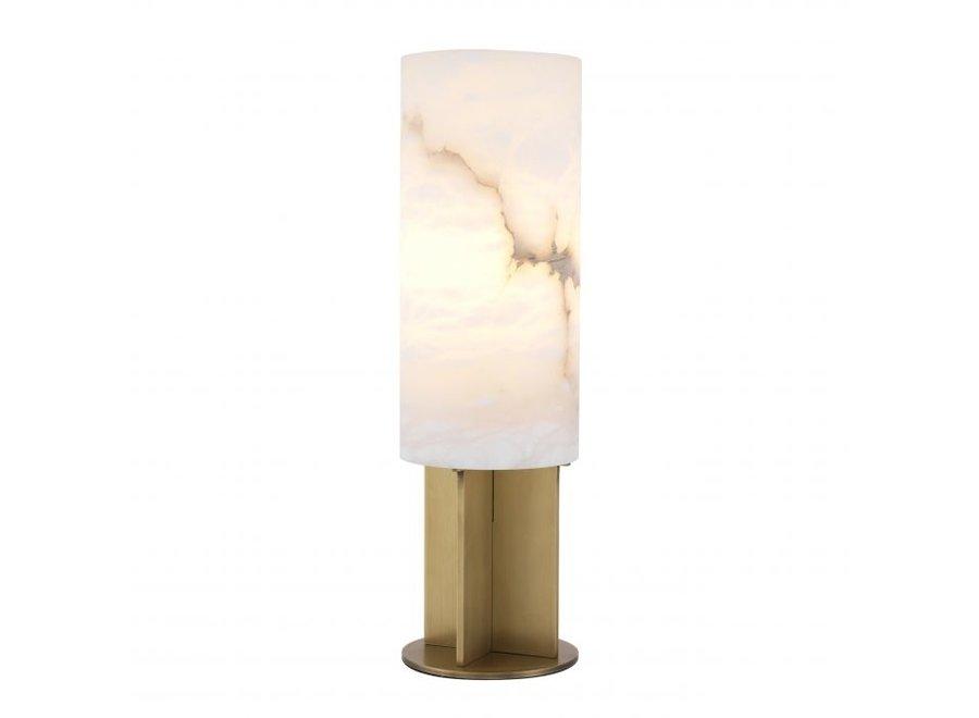 Table lamp 'Giorgina' - Antique brass