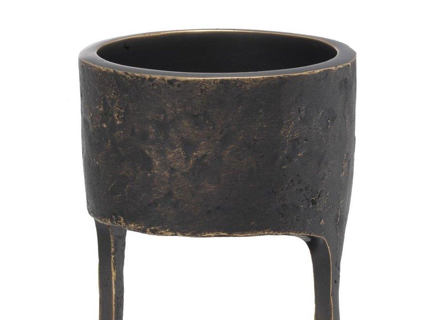 Candle Holder 'Bologna' S- Bronze