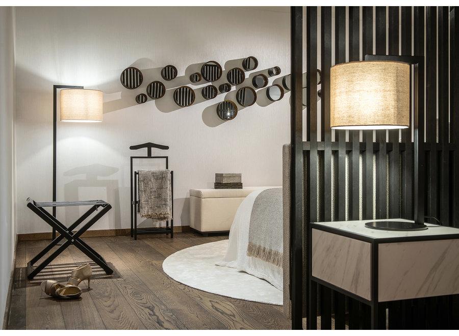 Bed bench 'Porto' - Paris Fabric Mouse