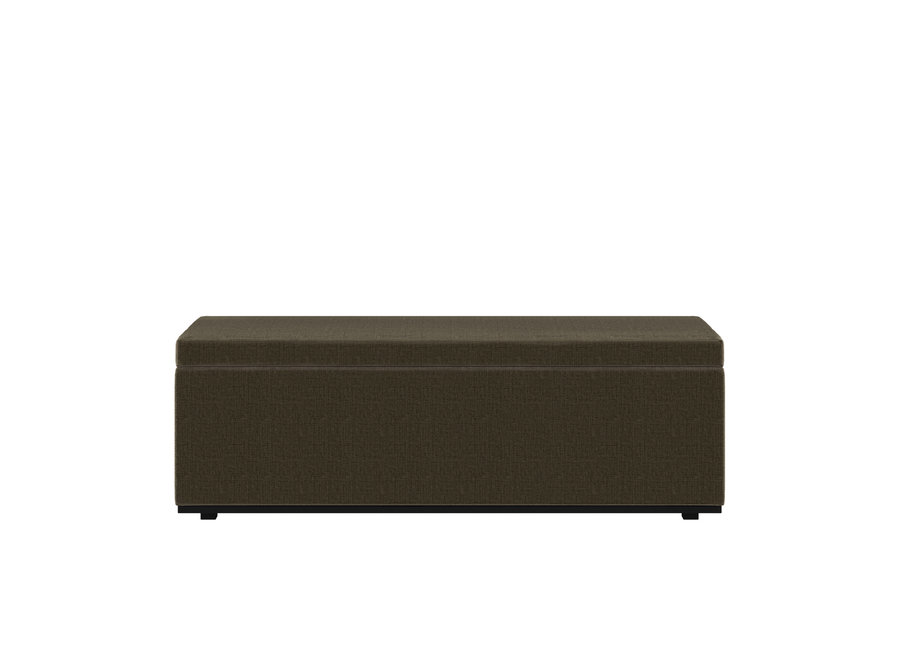 Bed bench 'Porto' - Giant Fabric Green