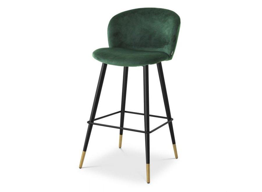 Barstoel Volante Roche dark green - set van 2