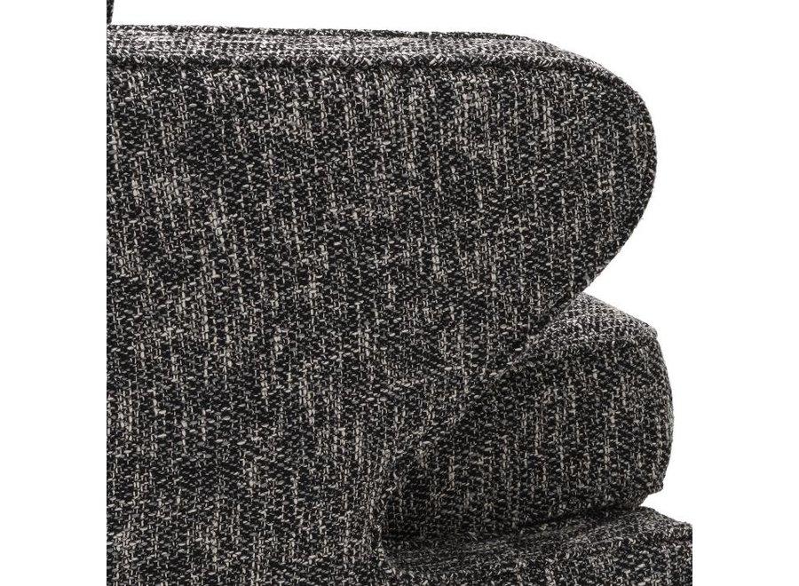 Draaistoel 'Dorset' - Cambon black