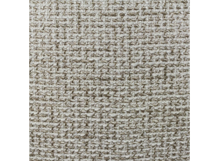 Bank 'Curve' - Quas res fabric Beige