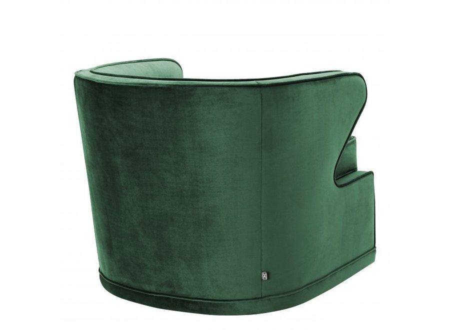 Draaistoel 'Dorset' - Roche green velvet