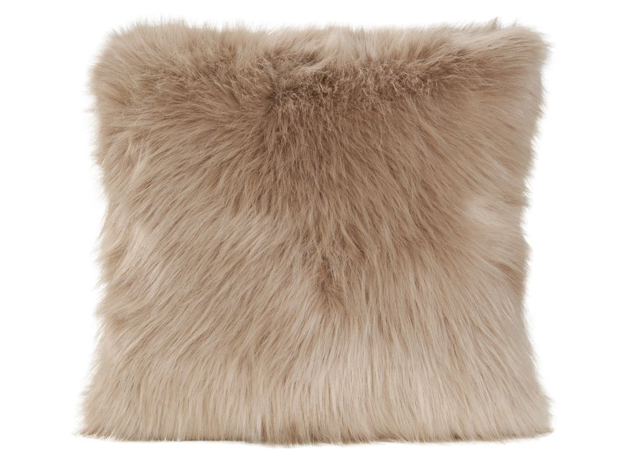 Cushion fur - Prairie Wolf