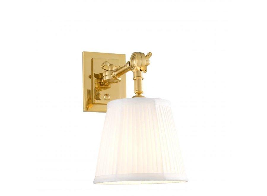 Wall lamp 'Wentworth'  single - gold
