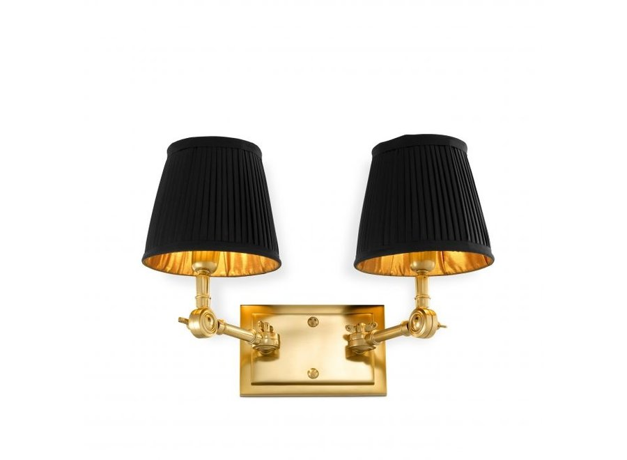 Wall lamp Wentworth  double - gold